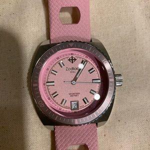 Pink Zodiac Watch